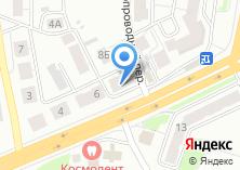 Компания «Иномарка» на карте