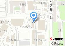 Компания «Кирева» на карте