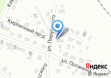 Компания «Продуктовый магазин на ул. Пирусского» на карте