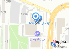 Компания «Тойота Центр Томск» на карте