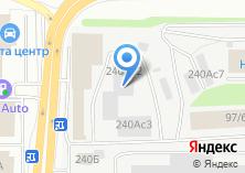Компания «ГласСервис» на карте