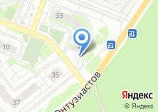 Компания «Строящийся жилой дом по ул. Энтузиастов» на карте