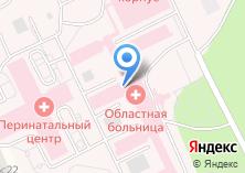 Компания «Томская областная клиническая больница» на карте