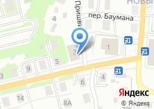 Компания «Томские бани» на карте