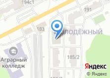 Компания «Молодежный» на карте