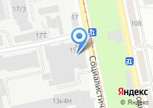 Компания «Алтайский промышленный центр» на карте