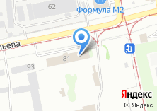Компания «Трамвайное управление» на карте