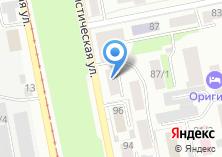 Компания «ВСЕРОССИЙСКАЯ ЭКСПРЕСС ПОСТАВКА» на карте
