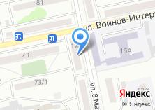 Компания «Виас» на карте