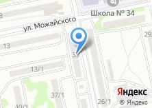 Компания «Оптика-7» на карте