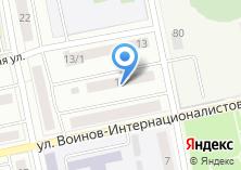 Компания «Недвижимость в Бийске» на карте