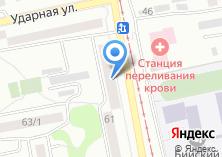 Компания «Фурор» на карте