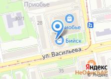 Компания «БТС» на карте