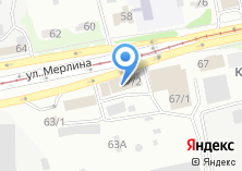 Компания «НОВА» на карте