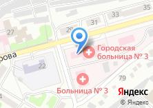 Компания «Городская больница №3 г. Бийска» на карте