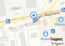 Компания «Поликаст» на карте