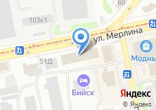 Компания «Игрушки живут здесь» на карте