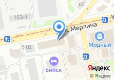 Компания «Аквилегия» на карте