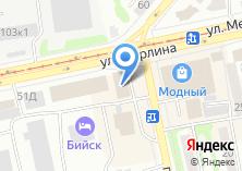 Компания «220v» на карте