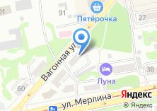 Компания «Садовник» на карте
