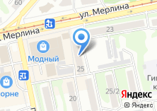Компания «Алтайская недвижимость-Бийск» на карте