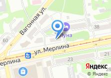 Компания «Леди-сервис» на карте