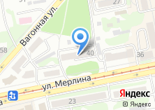 Компания «Салон ритуальных услуг на ул. Мерлина» на карте