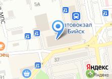 Компания «Строящееся административное здание по ул. Вали Максимовой» на карте