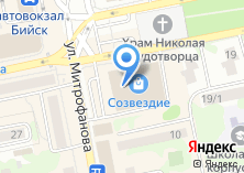 Компания «Строящееся административное здание по ул. Митрофанова» на карте