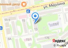 Компания «Ависта» на карте