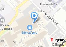 Компания «УютМебель» на карте