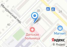 Компания «Детская городская больница» на карте