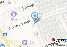 Компания «СТО на ул. Туркменская» на карте