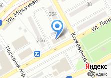 Компания «Сеть продуктовых супермаркетовиктория» на карте
