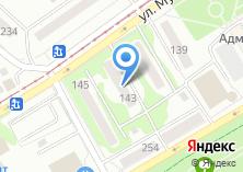 Компания «Такси на пять» на карте