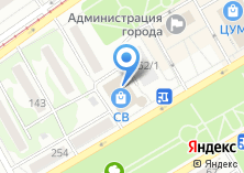 Компания «Сласти» на карте