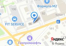 Компания «Бийскмежрайгаз» на карте