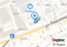Компания «АлтайСпецТранс» на карте