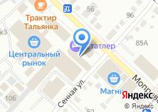 Компания «TopTuning» на карте