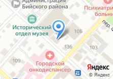 Компания «Бийский таможенный пост» на карте