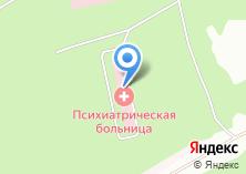 Компания «Городская психиатрическая больница» на карте