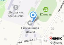 Компания «Шебалинская детско-юношеская спортивная школа» на карте