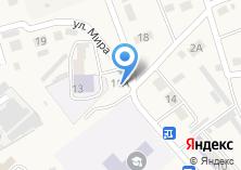 Компания «Мирный» на карте