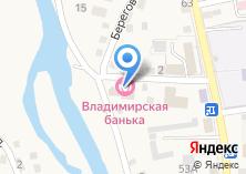 Компания «Владимирская банька» на карте