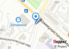 Компания «Саженцы» на карте