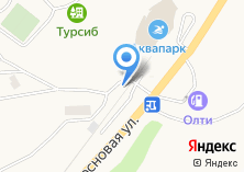 Компания «Турсиб» на карте