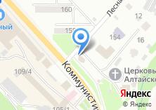 Компания «Букет Горного Алтая» на карте