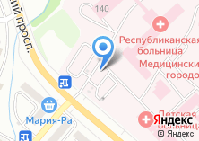 Компания «Киоск по продаже фруктов и овощей» на карте