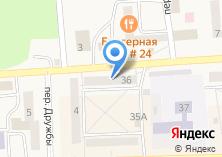 Компания «Лада» на карте