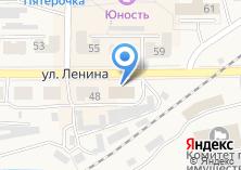 Компания «Почтовое отделение связи» на карте